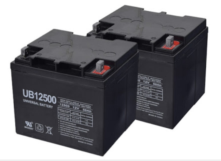 Replacement batteries for mobility scooters